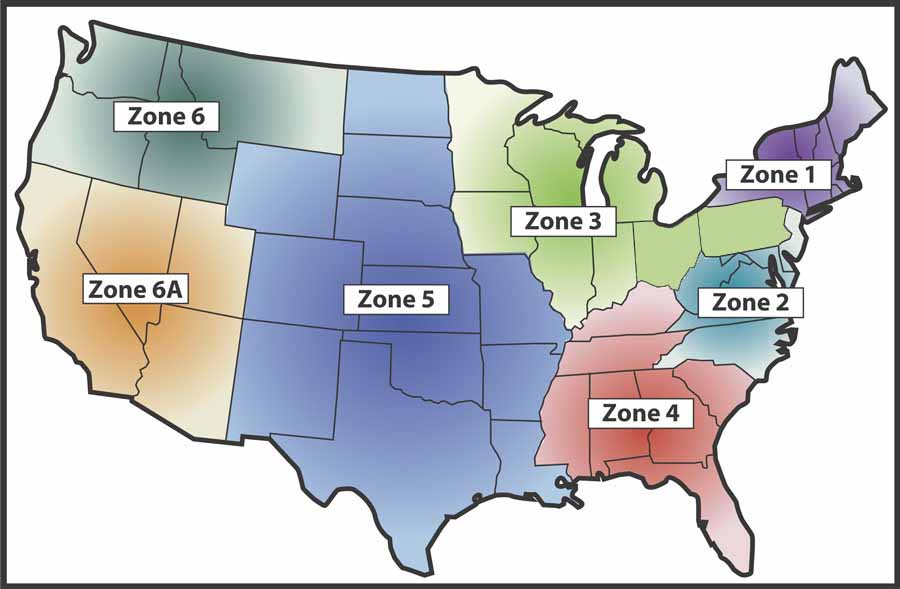 PHA Zone MAP Zone Map Of Usa on